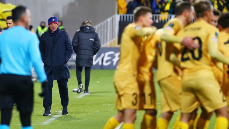 Жозе Моуриньо претърпя най-тежката загуба в кариерата си на треньор,