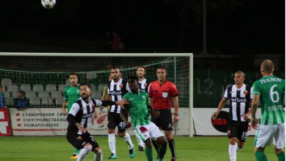 Отборите на Локомотив (Пд) и Берое завършиха наравно 0:0 в
