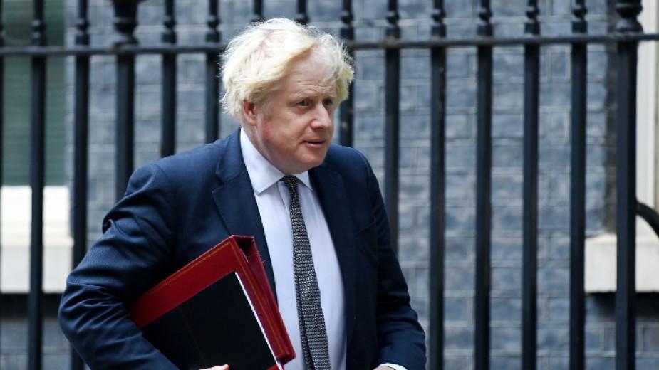 Британсикят премиер Борис Джонсън, чиято страна е председател на Г-7,