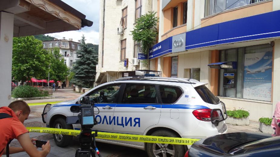 Въоръжен грабеж бе извършен на 17 юни т.г. в банков офис в центъра на Дупница.