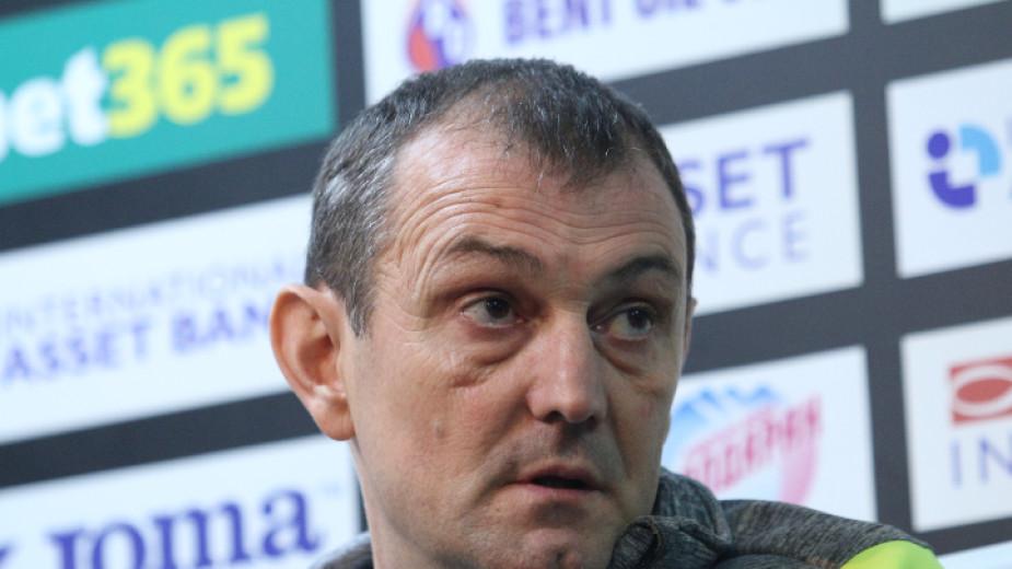 Сръбският специалист Златомир Загорчич пристига в София, за да застане