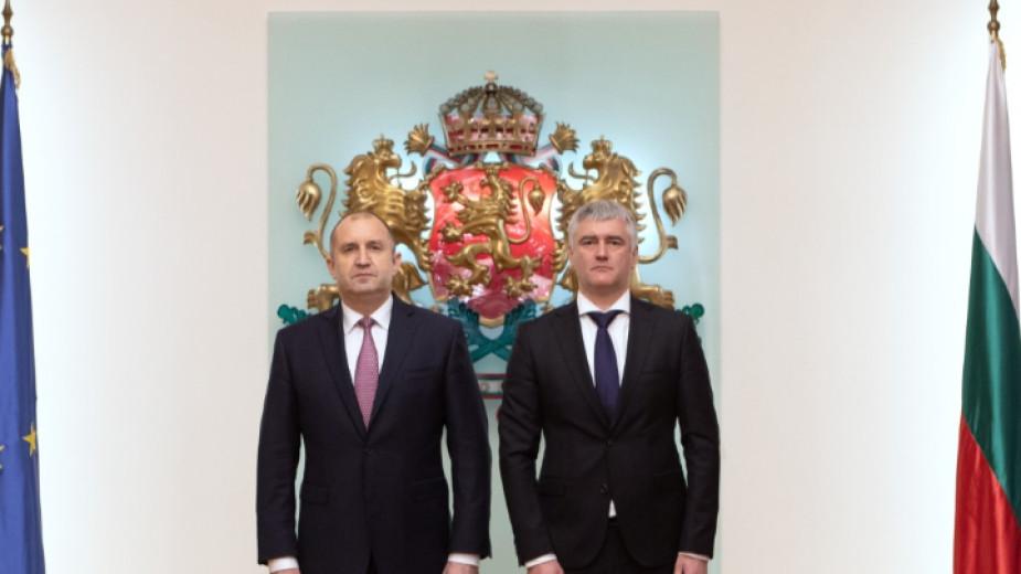 Президентът Румен Радев е обсъдил с кмета на Цариброд Владица
