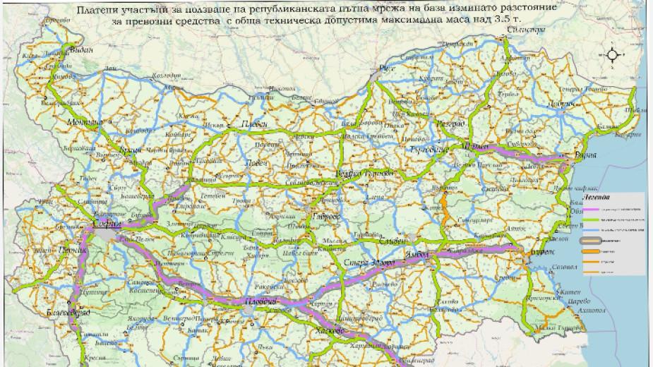 Kamionite Nad 3 5 Tona She Plashat Tol Taksi Za 6050 Km Novini