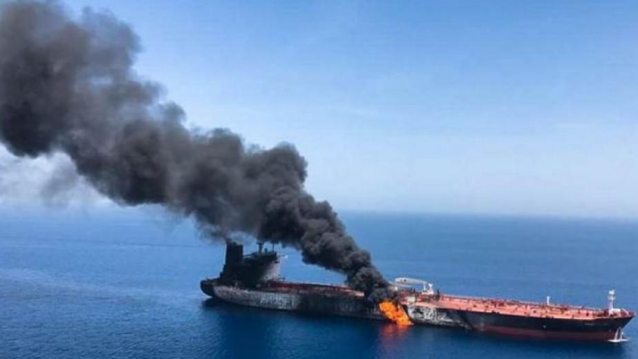 САЩ винят Иран за днешния инцидент в Оманския залив