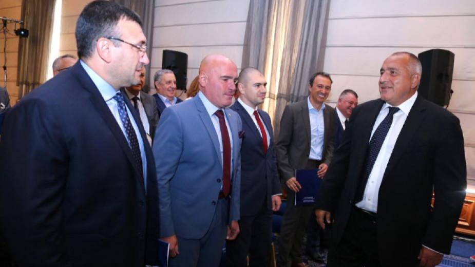 На форума в София за взаимодействие между публичната и частната сигурност при противодействие на киберзаплахи участие взеха Бойко Борисов, Младен Маринов и Явор Колев.