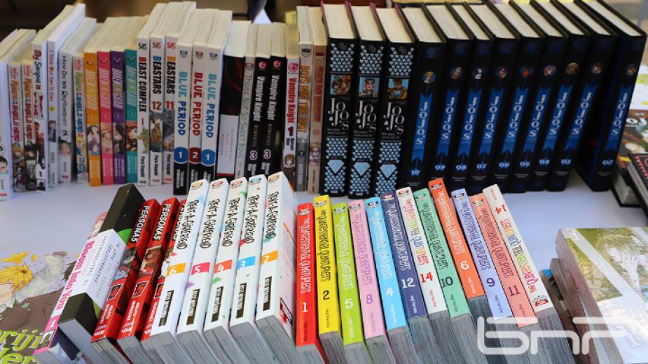 6033лв. са събрани от продажбата на книги на проведения през