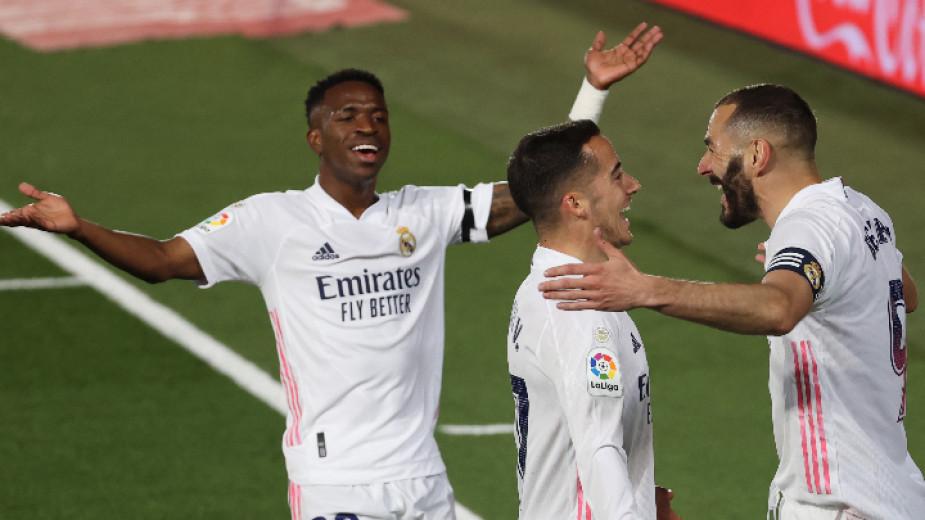 Футболистите на Реал (Мадрид) постигнаха втори успех за сезона над