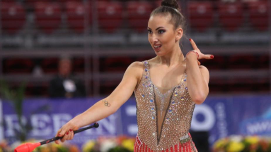 Сребро за Катрин Тасева в Киев