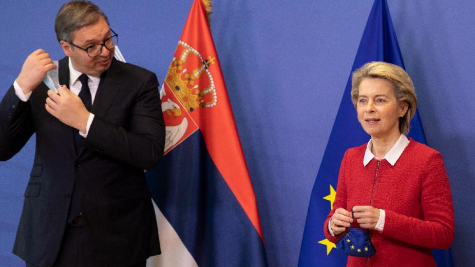 Европейската комисия е готова до подкрепи високоскоростна жп линия между