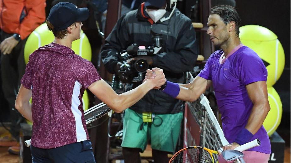 Вторият поставен на Мастърс 1000 тенис турнира в Рим Рафаел