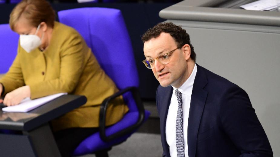 Германският здравен министър Йенс Шпан е изправен пред нова вълна
