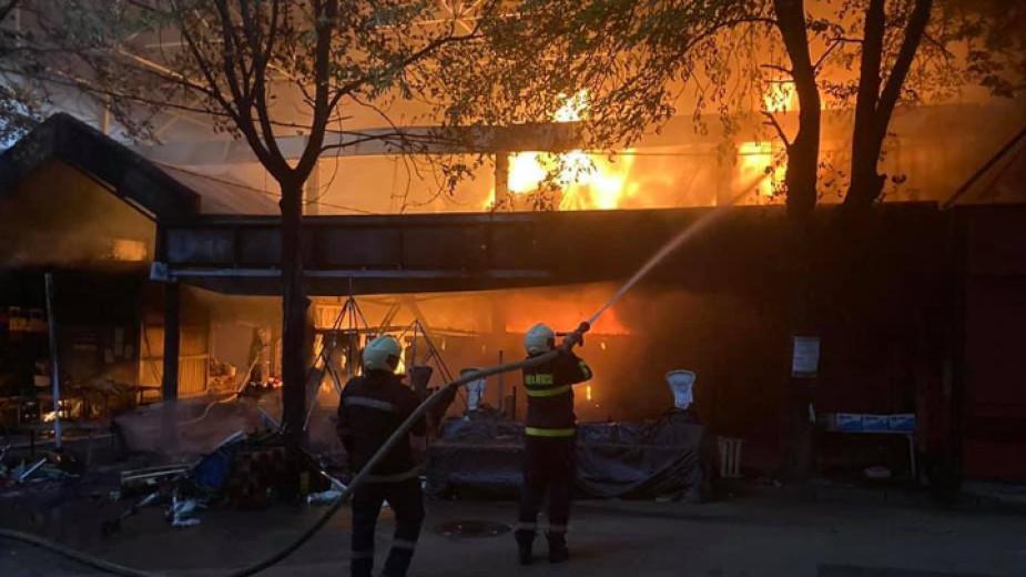 Търговците, чиято стока изгоря при избухналия това лято пожар на