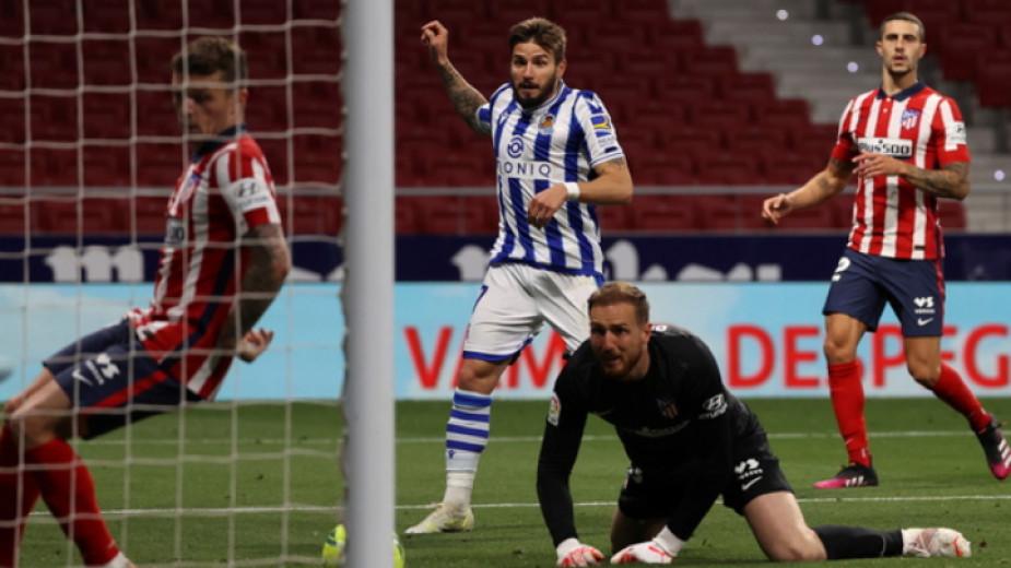 Отборът на Атлетико (Мадрид) се приближи още повече до титлата,