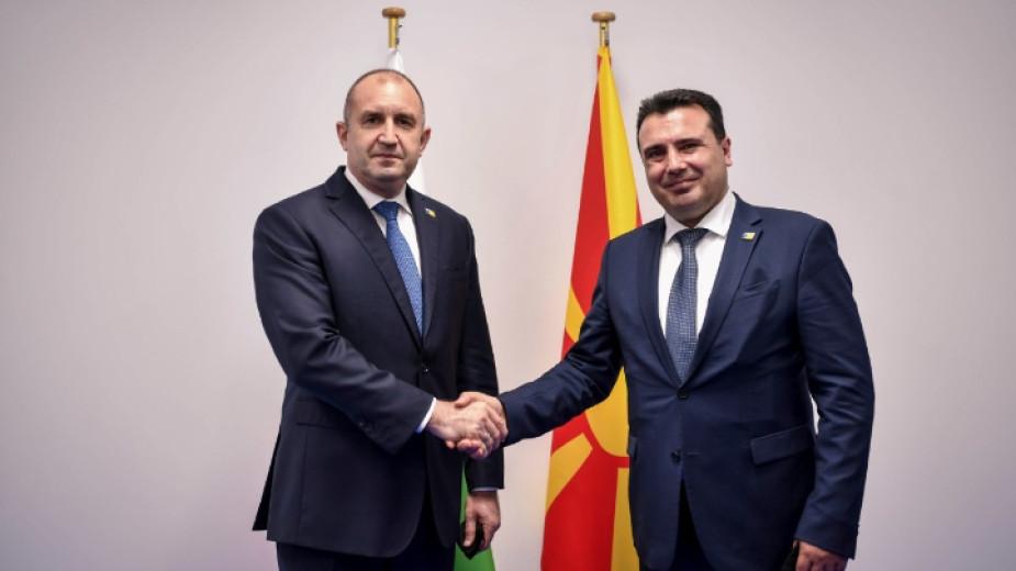 Президентът Румен Радев проведе двустранна среща в Брюксел с министър-председателя