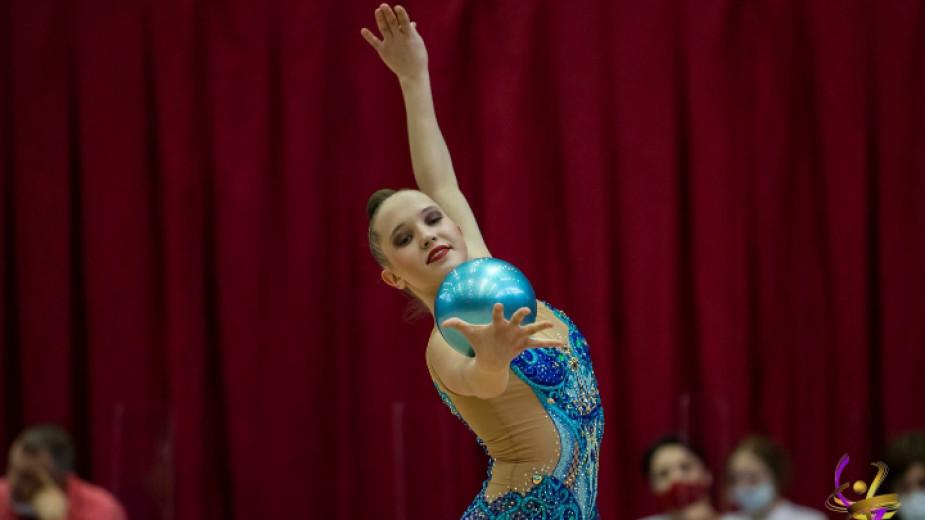 След като спечели бронзов медал в многобоя Татяна Воложанина се