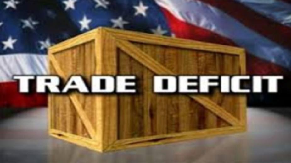 Международният търговски дефицит на САЩ се сви през април с