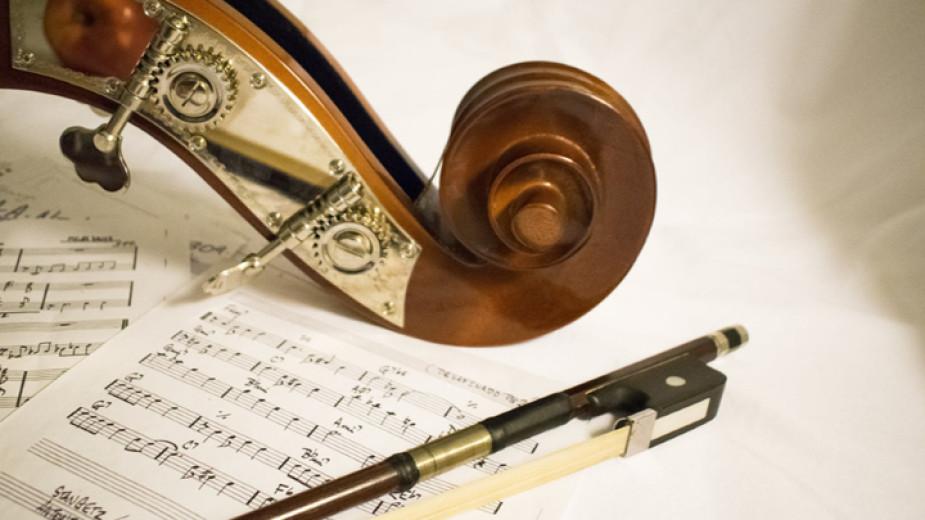 Любен Йотов е най-възрастният оркестрант у нас. Преди дни той