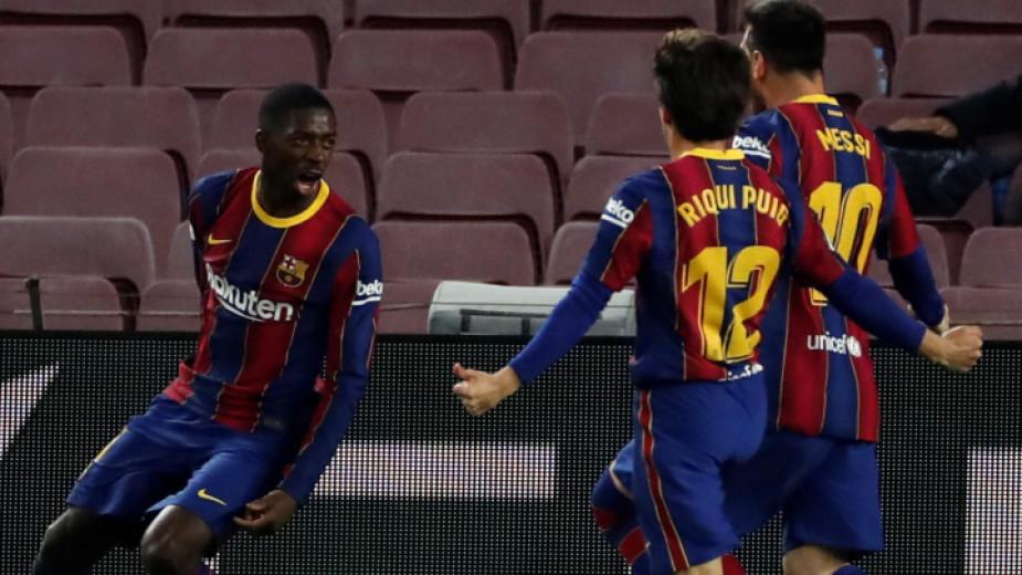 Барселона се доближи само на точка от лидера в испанското