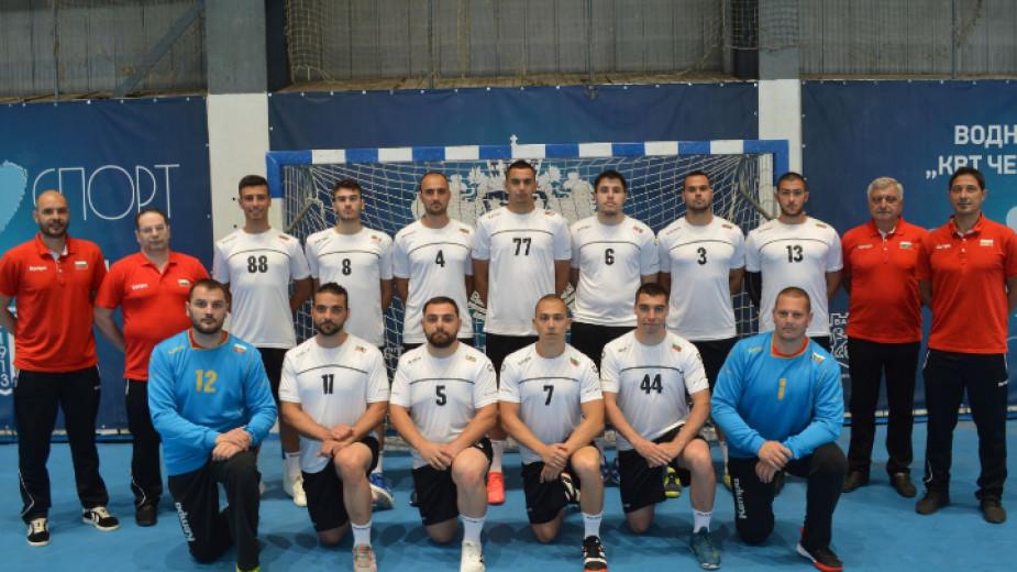Мъжкият ни национален отбор по хандбал тренира във Варна от