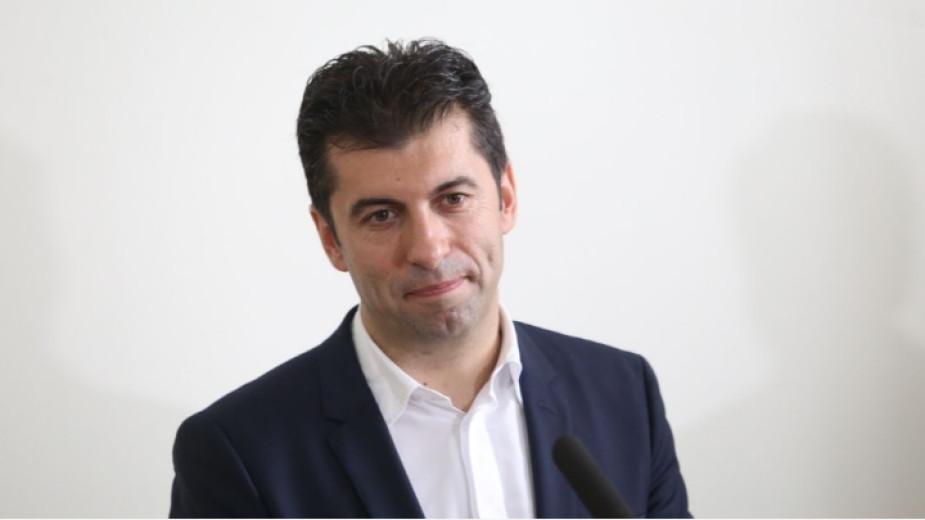 Кирил Петков е против общи листи с ДБ и ИБГНИ