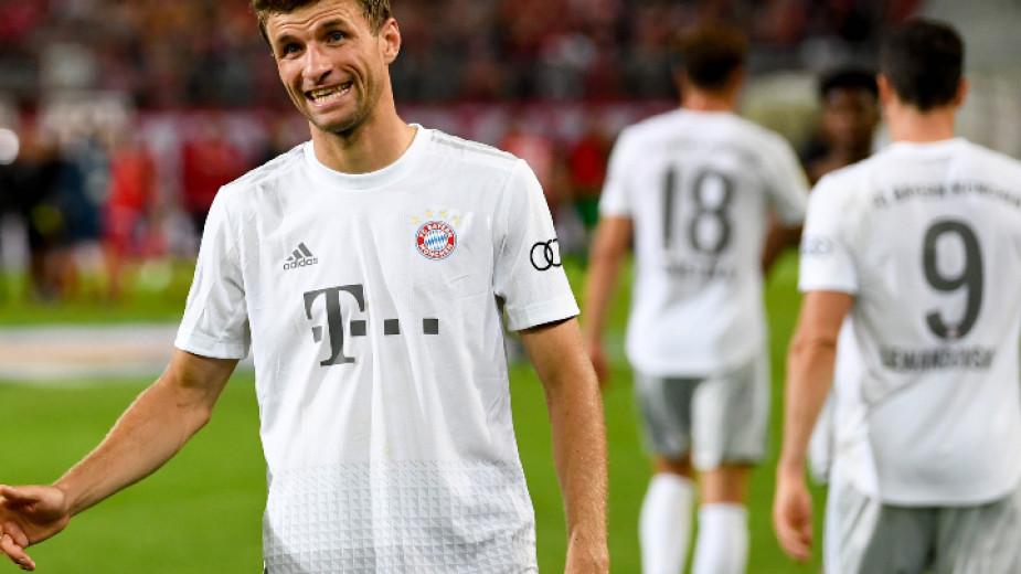 Байерн (Мюнхен) отстрани Енерги Котбус на Димитър Рангелов от турнира за Купата на Германия
