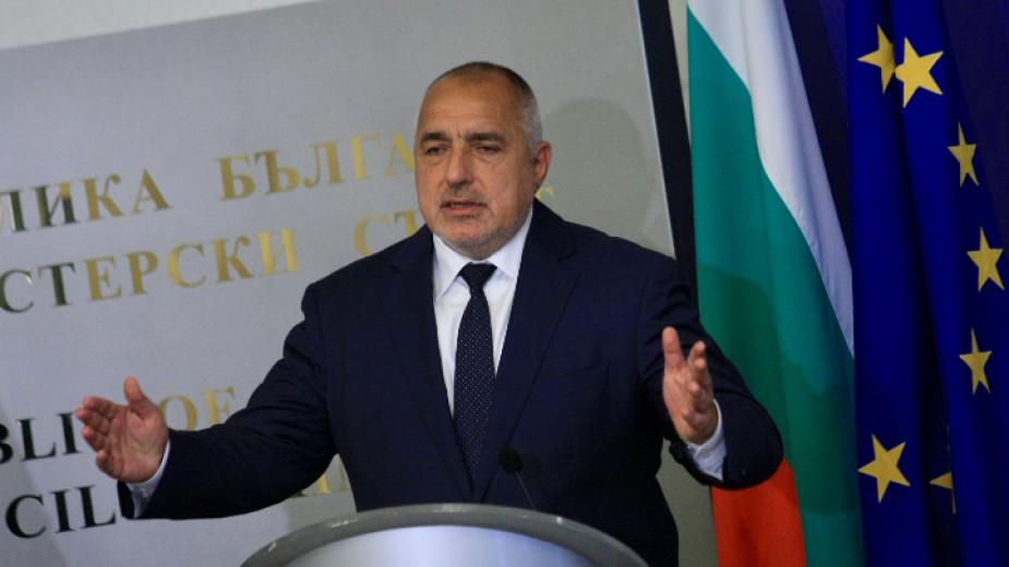 Премиерът Борисов е разговарял с държавния секретар на САЩ Майк Помпейо