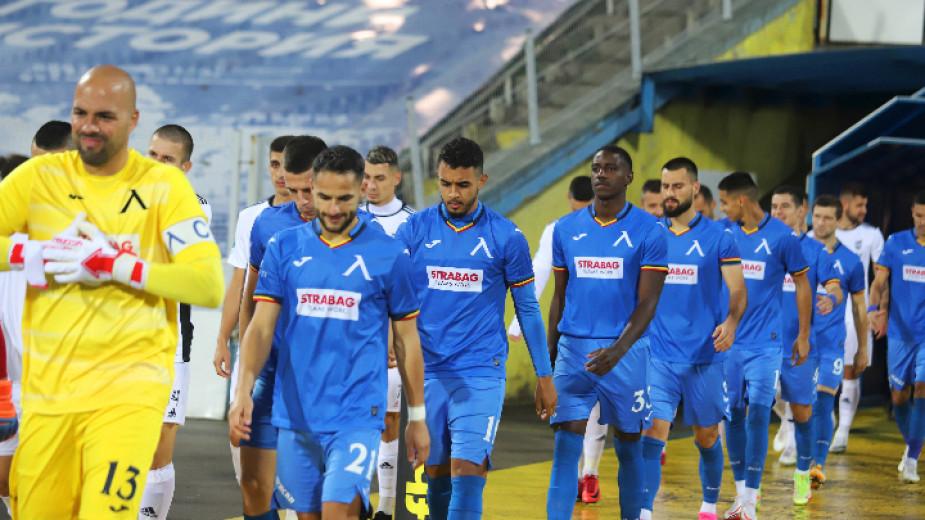Отборът на Левски записа втори пореден успех в Първа лига,