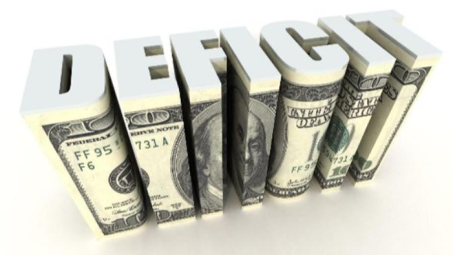 Бюджетният дефицит на САЩ възлиза на 2,772 трилиона долара през