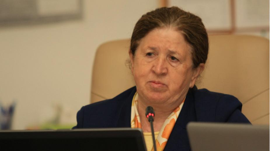 Председателят на ЦИК Стефка Стоева