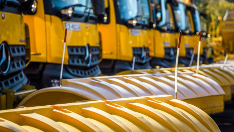 Над 330 машини, снегопочистваща техника е предвидена за зимния сезон