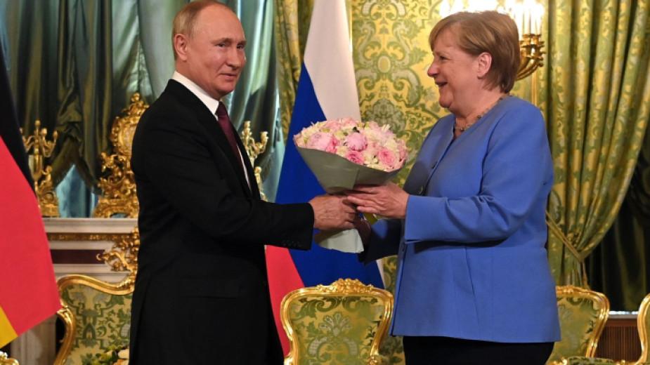 Руският президент Владимир Путин заяви след срещата си с немския