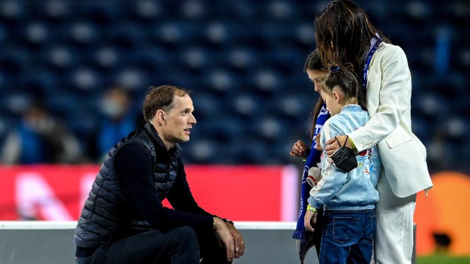 Мениджърът на Челси Томас Тухeл бе във възторг след триумфа