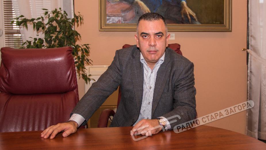 Стефан Радев, кмет на Община Сливен