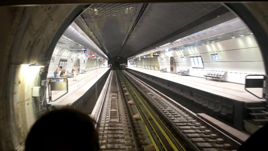Атина остана без метро тази сутрин поради стачка на работещите.