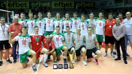 Юношите до 17 години спечелиха балканската титла в София.