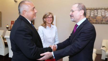 Министърът на външните работи на Йордания Айман ас Сафади е на визита в България по покана на българският дипломат №1 Екатерина Захариева.