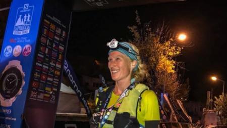 Мария Николова финишира на Кападокия