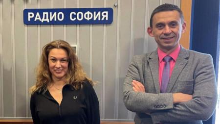 Камелия Димитрова - председател на БАПРА, и доц. Александър Христов - зам.-председател