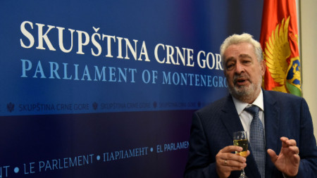 Номинираният за премиер на Черна Гора Здравко Кривокапич доскоро беше председател на парламента