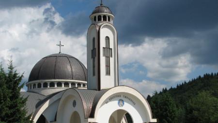 """Катедралният храм """"Св. Висарион Смоленски"""" в Смолян"""