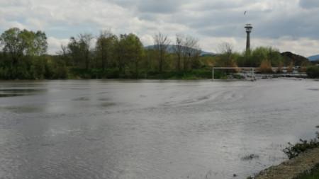 Стадионът в кв.