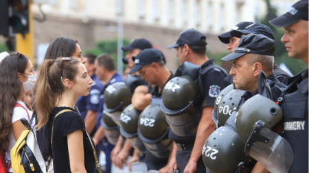 56th day of anti-government protests in Bulgaria - Grand National Uprising