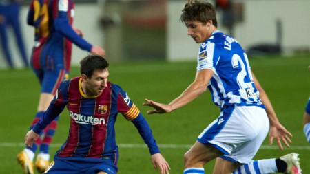 Барселона спечели с 2:1 срещу  Реал Сосиедад