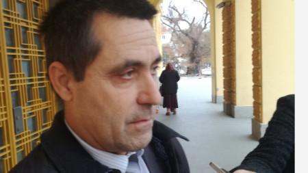 старши инспектор Димитър Кикьов, началник на Районно полицейско управление Сливен