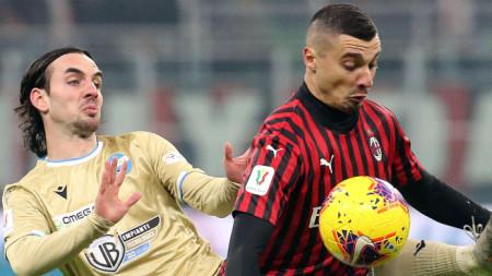 Милан победи с 3:0 срещу СПАЛ
