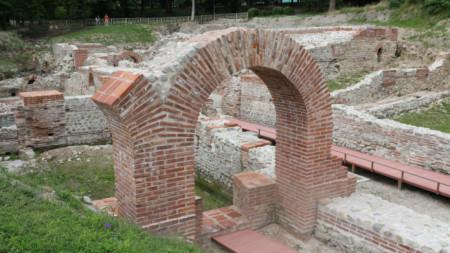 Римските терми в Хисаря