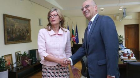 Ministrat e punëve të jashtme të Bullgarisë dhe Greqisë