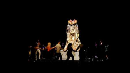 Кадър от представлението