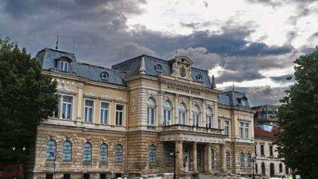 Das Geschichtsmuseum von Russe, entworfen 1882 von dem österreichischen Architekten Friedrich Grünanger als Schloss des Fürsten Alexander I. Battenberg