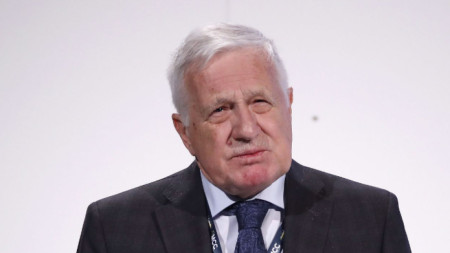 Бившият чешки президент Вацлав Клаус